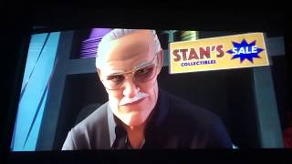 Spider man into the spider verse Stan lee cameo