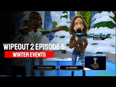 Wipeout 2 Episode 5 Winter Events Gameplay