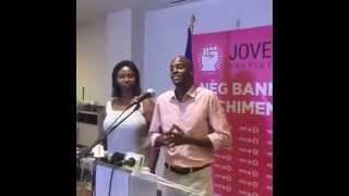 VIDEO: Haiti - Jovenel Moise Point de Presse apre Resultat 1er Tou Presidentiel Yo