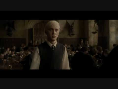All Draco Malfoy Scenes in HBP Part 2 HQ