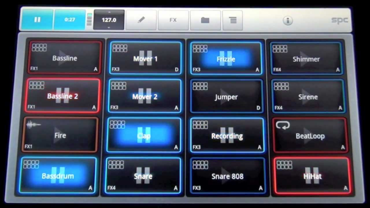mikrosonic SPC - Music Sketchpad 2 for Android