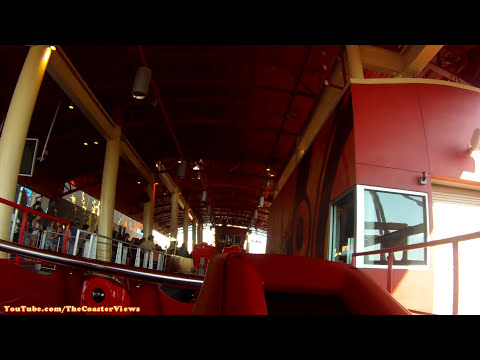 Hollywood Rip, Ride, Rockit On-Ride (HD POV) Front Seat Universal Studios Florida Roller Coaster