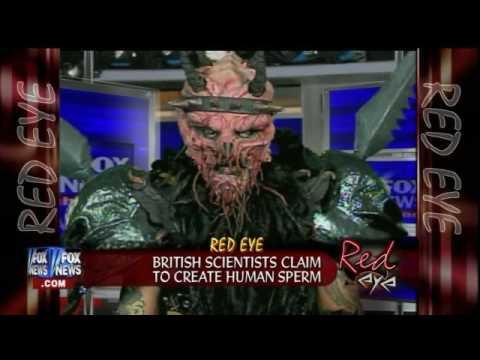 Red Eye On FOX News - 3rd Appearance by GWAR...