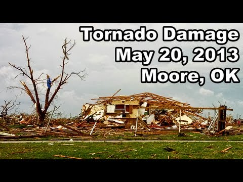 Oklahoma Tornado Damage (Moore, Oklahoma - May 20, 2013)