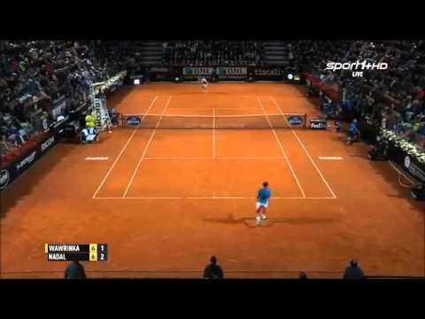 Stan Wawrinka vs Rafael Nadal Highlights HD Rome 2015