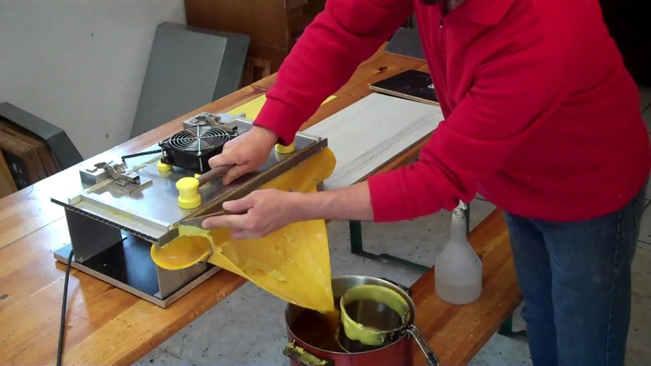 Как сделать вощину для пчел в домашних условиях
