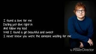 Download Lagu Ed Sheeran - Perfect (Lyrics) Gratis STAFABAND