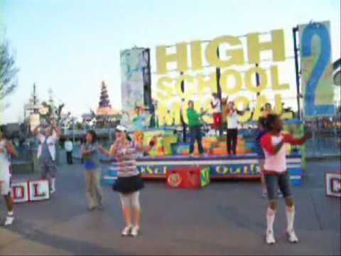 Disneyland DCA High School Musical 2 Pt. 1 R66 CLIP 01/18/08