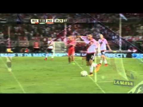 Alario le dio la victoria a River y se quedó con el clásico ante Independiente