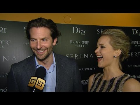 Jennifer Lawrence on 'Serena' Sex Scenes With Bradley Cooper: 'I Pointed and Laughed'