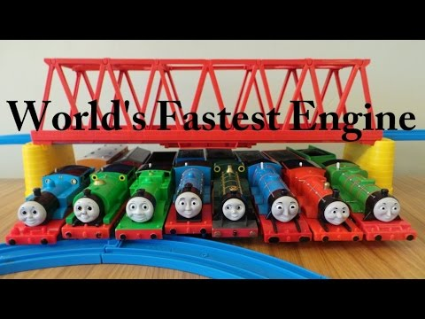 Thomas And Friends - World's Fastest Engine video