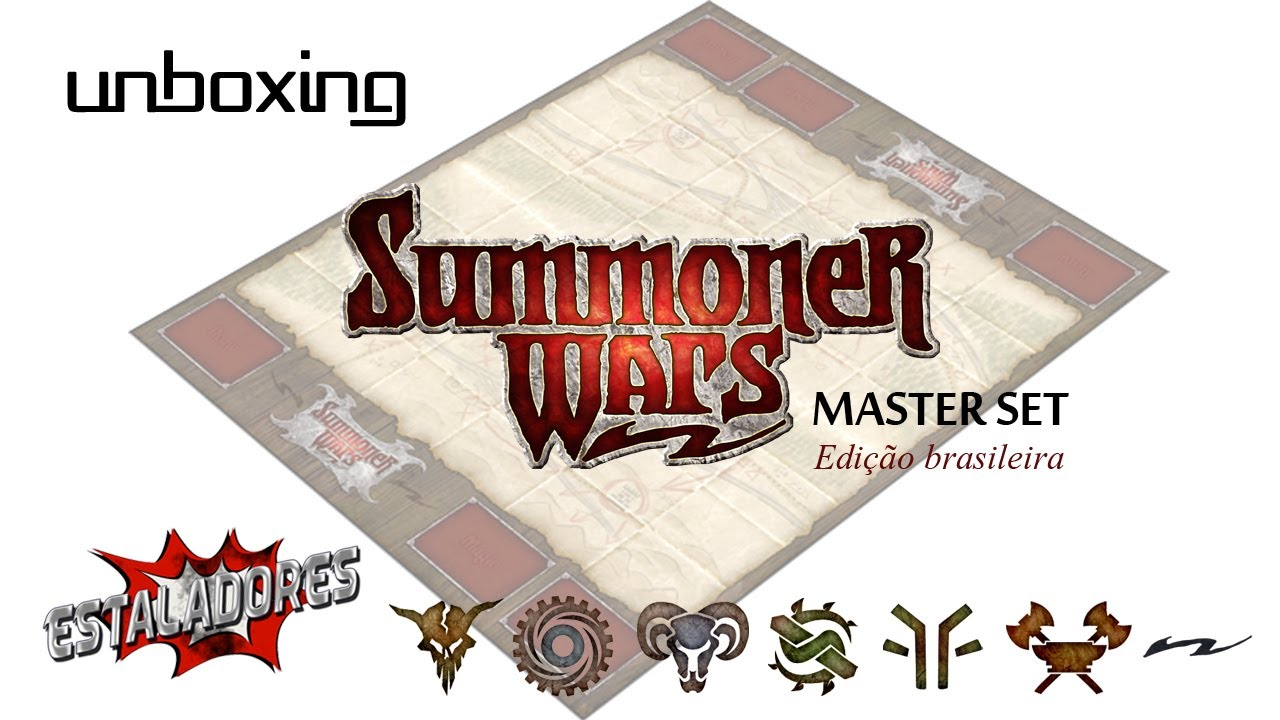 Summoner Wars Master Set Unboxing Unboxing Summoner Wars