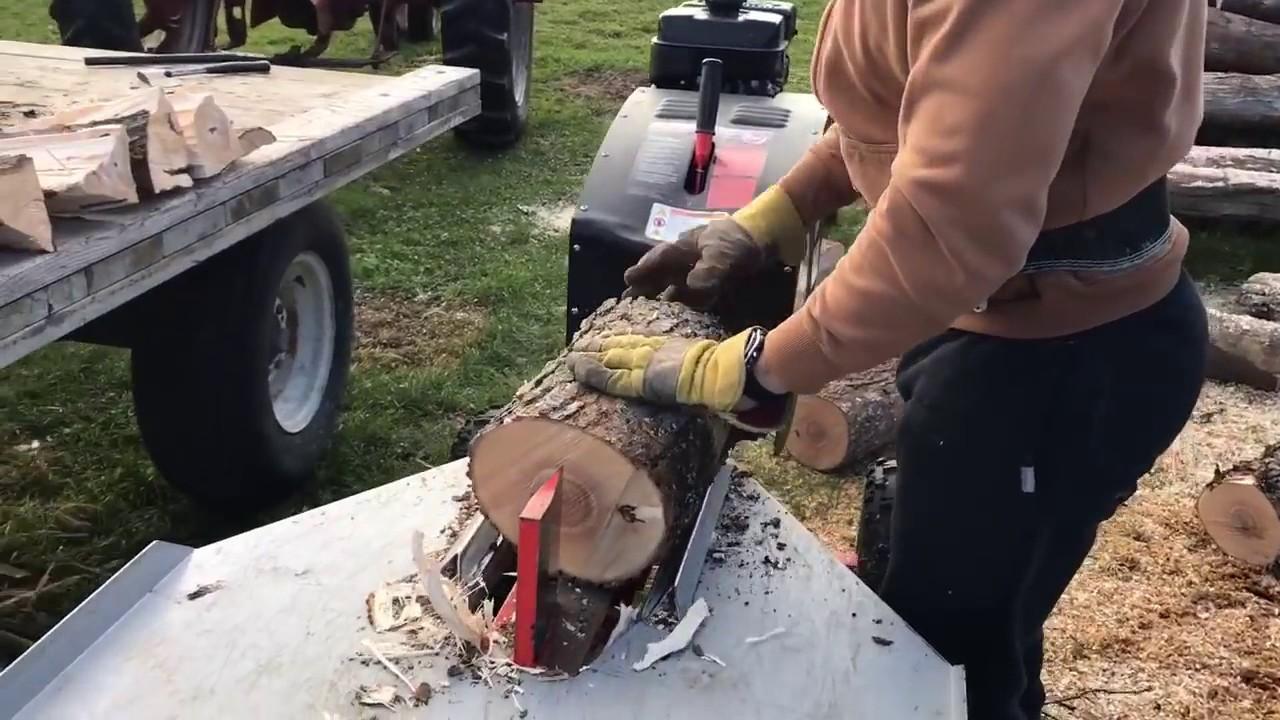 Как сделать рейку для дровокола 782