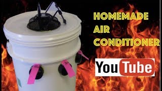 HOME MADE AIR CONDITIONER! EASY AS 1,2,3 !