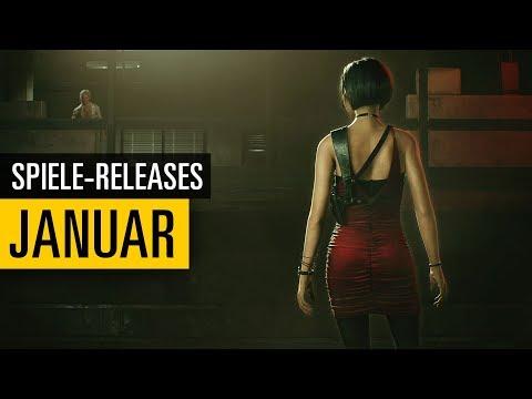 Spiele-Releases im Januar 2019  Für PC PS4 Xbox One und Nintendo Switch
