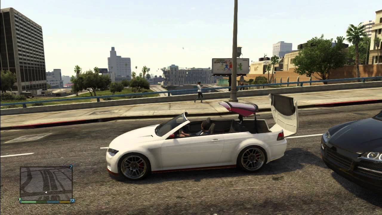 Gta V Gameplay Convertible Roof In Action Sentinel