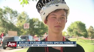 Bullied student receives special honor