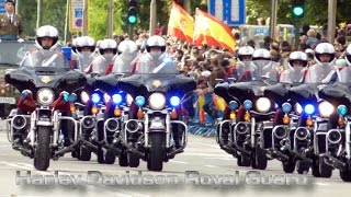 Harley Davidson Spanish Royal Guard