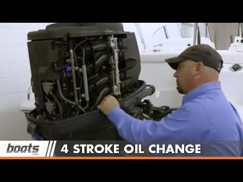 How to Change Engine Oil on Four-Stroke Outboard