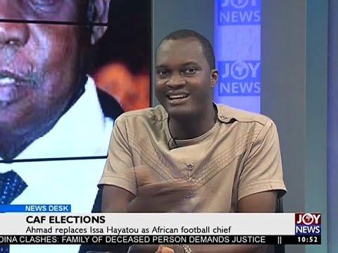 CAF Elections - News Desk on Joy News (17-3-17)