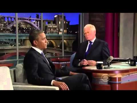 Barack Obama on David Letterman FULL