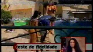 Teste de fidelidade do João Kleber com morenaça Daiane