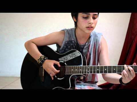 Chiara Furfari I don't love you- My Chemical Romance acoustic cover