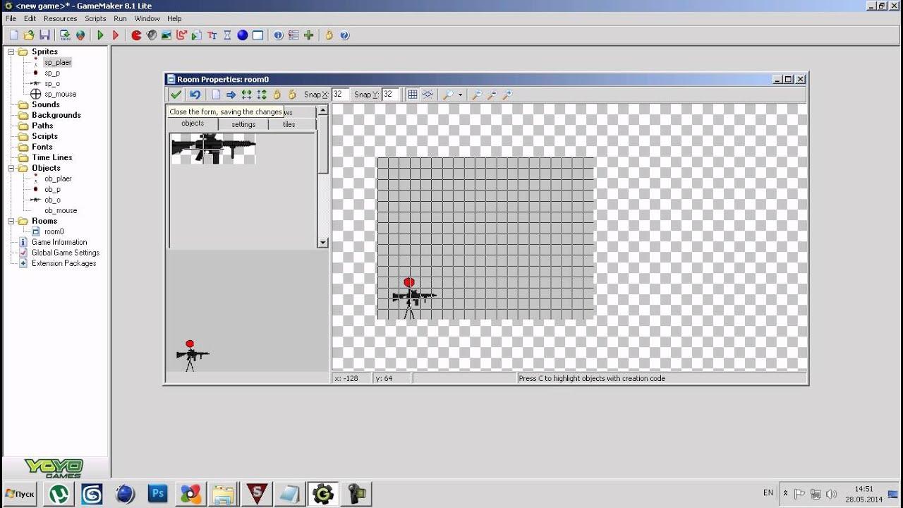 как создать shooter в game maker - ViYoutube