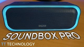 DOSS SOUNDBOX PRO REVIEW - Portable Speaker With Stereo Pairing