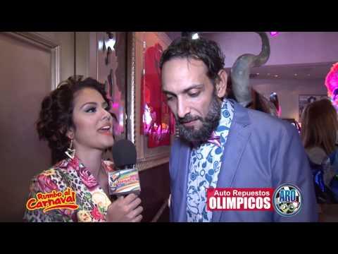 Rumbo al Carnaval Lanzamiento Entrevista Rafael Holguin (Tatu)