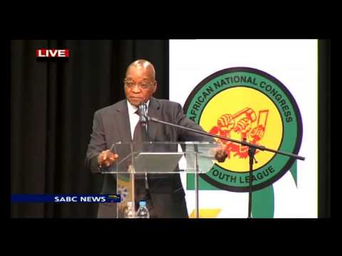 President Jacob Zuma at the ANCYL: 26 November 2014