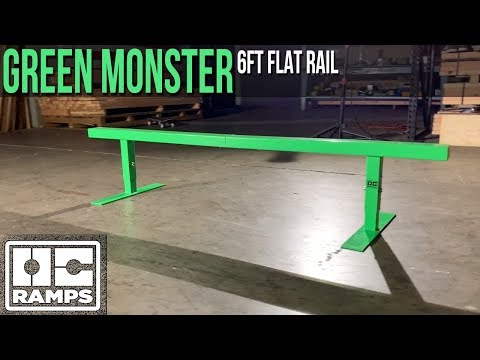 6ft long Green Monster Rail