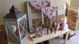 Outdoor Living Space | Fourth Of July