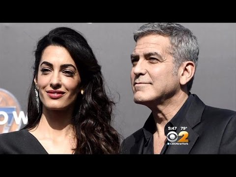 George Clooney Discusses His Proposal To Amal