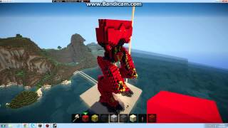minecraft pacific rim crimson typhoon so far half done