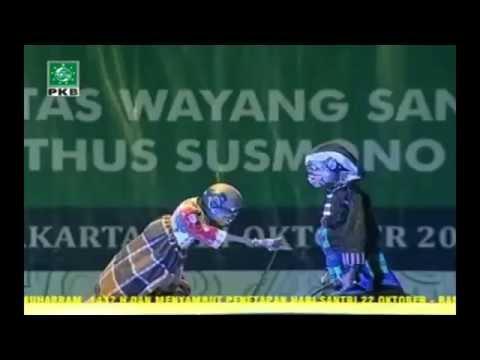 Wayang Golek Santri Ki Enthus Terbaru 2016 - judul lupit nulung putri ( Bag 1)