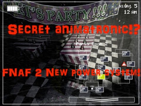 Secret Animatronic! New Power/Energy System!-Five Nights At Freddy's 2: The Sequel