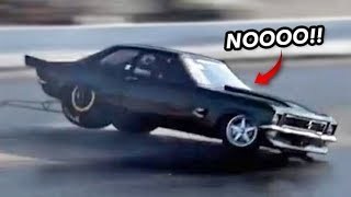 NASTY ROLLOVER WRECK & MORE! | Drag Week Day 2