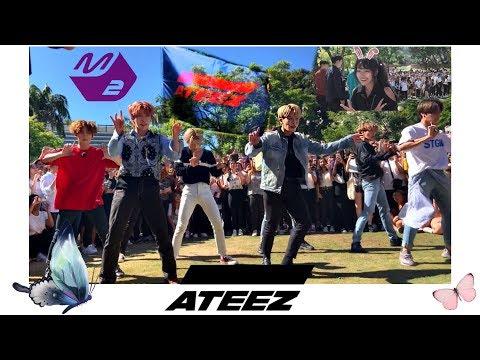 Download VLOG M2 X ATEEZ 'Dancing Like Butterfly Wings' Challenge! Mp4 baru