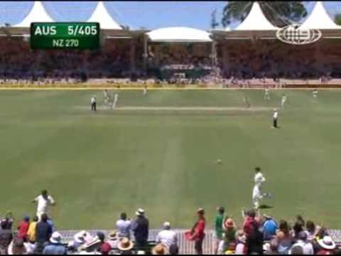 Brad Haddin's maiden Test Century