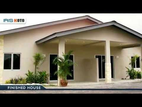 Fast easy build a house in 14 days with iris koto for Small house design for bangladesh