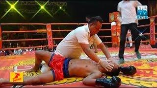 Tha Sarun vs Fashootshai(thai), Khmer Boxing MY TV 08 June 2018, Kun Khmer vs Muay Thai