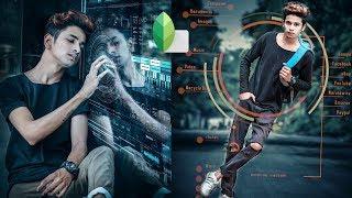 Snapseed Futuristic Amazing Editing Tricks |?New Snapseed Editing Tutorial | Chetan Edits