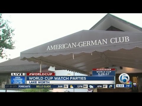 Local watch parties prepare of USA-Germany World Cup match
