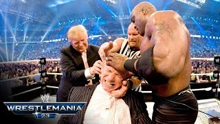 The Battle of the Billionaires takes place at WrestleMania