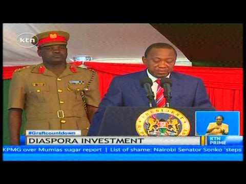 President Uhuru Kenyatta speaks to the diaspora on voting in the 2017 elections
