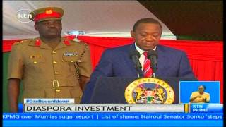 video The government is committed to enabling the diaspora vote in the 2017 elections. President Uhuru Kenyatta said this while officiating the Kenya diaspora Easter investment conference. Noting...