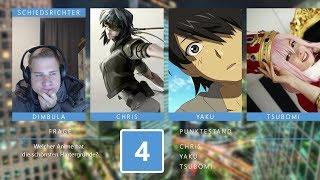 Anime Fights - Runde 4: Schlagabtausch (mit Tsubomi von Jimoku.de)