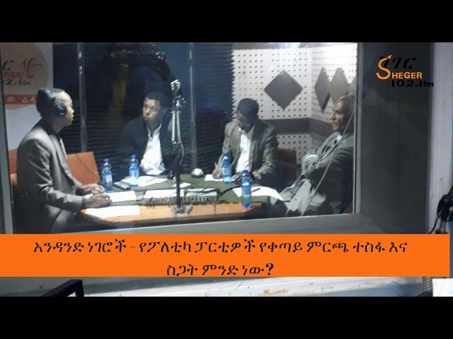 Andand Negeroch -Ethiopia Political Parties And Their Future