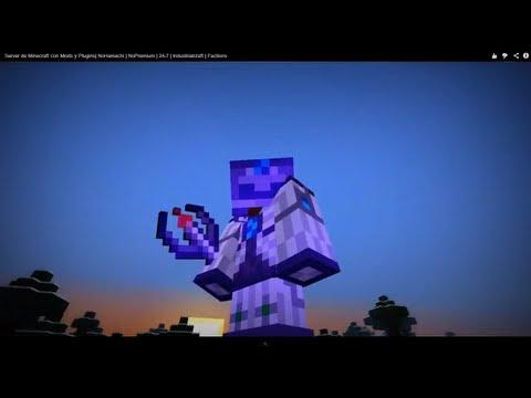 Server Minecraft 1.9 con Mods y Plugins   NoPremium   24-7   Industrialcraft   Factions
